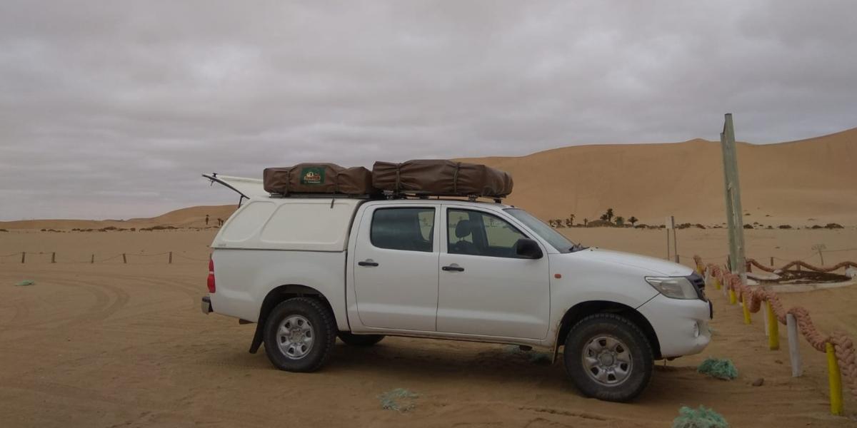 הרכב שהשכרנו בנמיביה