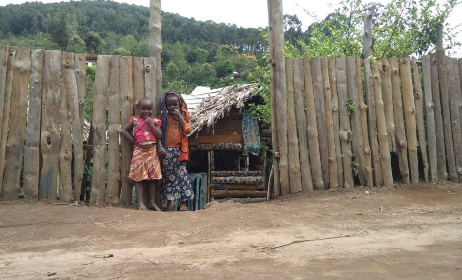 ילדים בכפרים של טנזניה