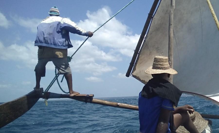 שייט לאי הנעלם בטנזניה