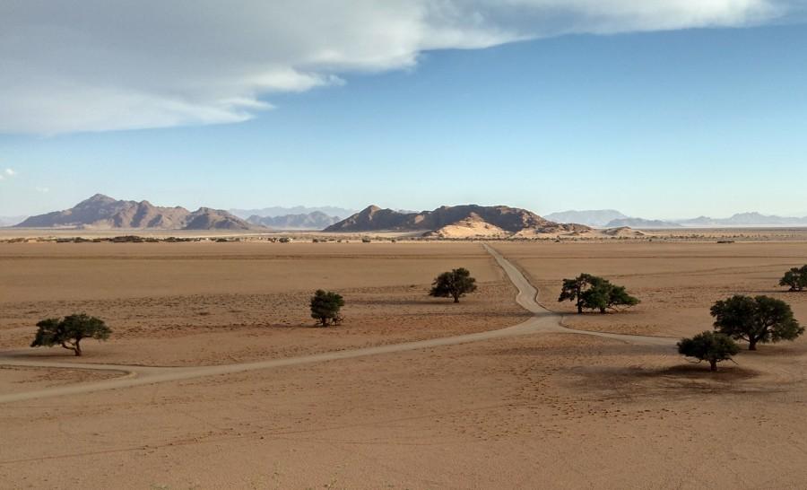 נוף של נמיביה