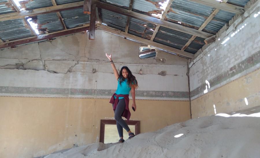 העיירה קולמנסרופ בנמיביה