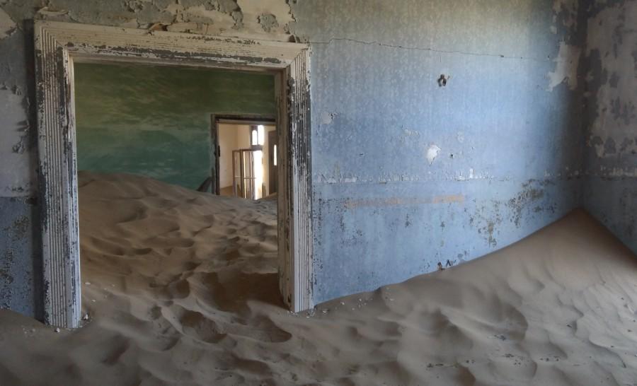 עיירת הרפאים קולמנסקופ נמיביה