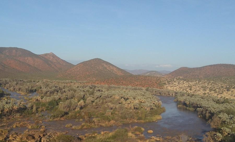 מפלי אפופה בנמיביה