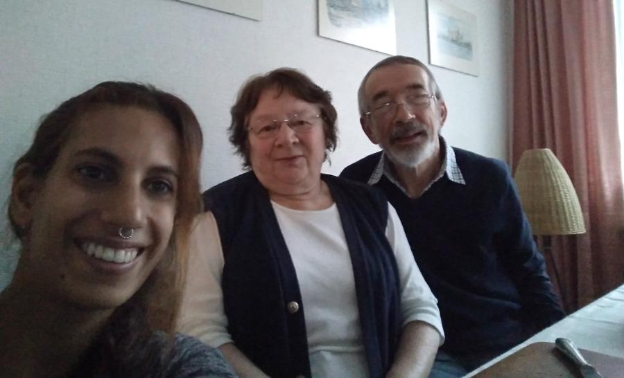 סבא וסבתא של ליזי בדרזדן גרמניה