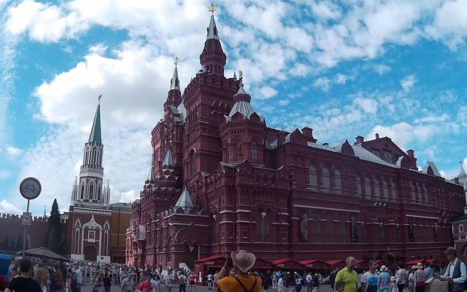 קונקשן ארוך במוסקבה