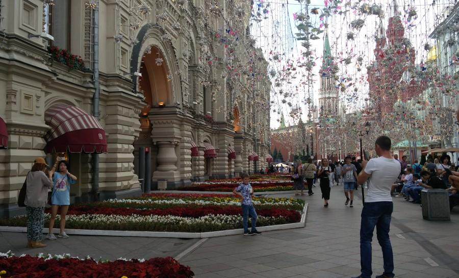 הרחוב המרכזי של מוסקבה