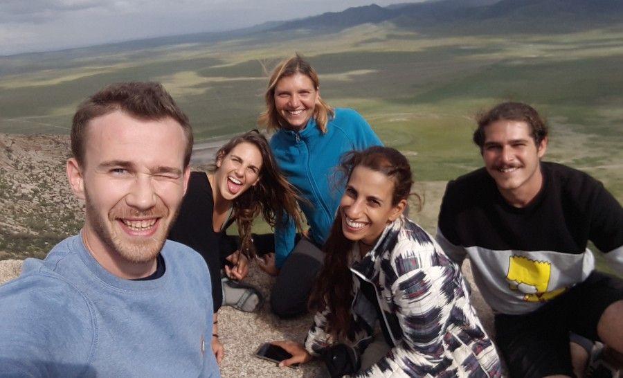 תצפית ההר הקדוש במדבר גובי