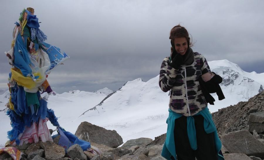 פסגת ההר בשמורת הטאבן בוגד