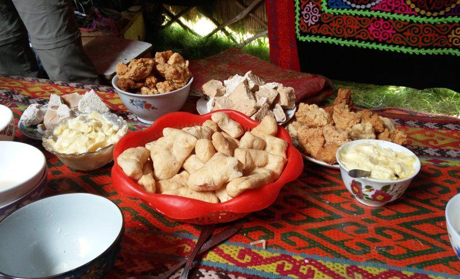גבינות מונגוליות מקומיות