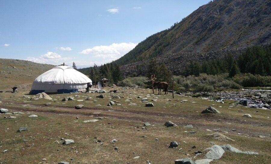 יורט במונגוליה