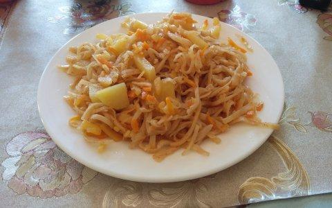 צויבאן - מאכל מונגולי