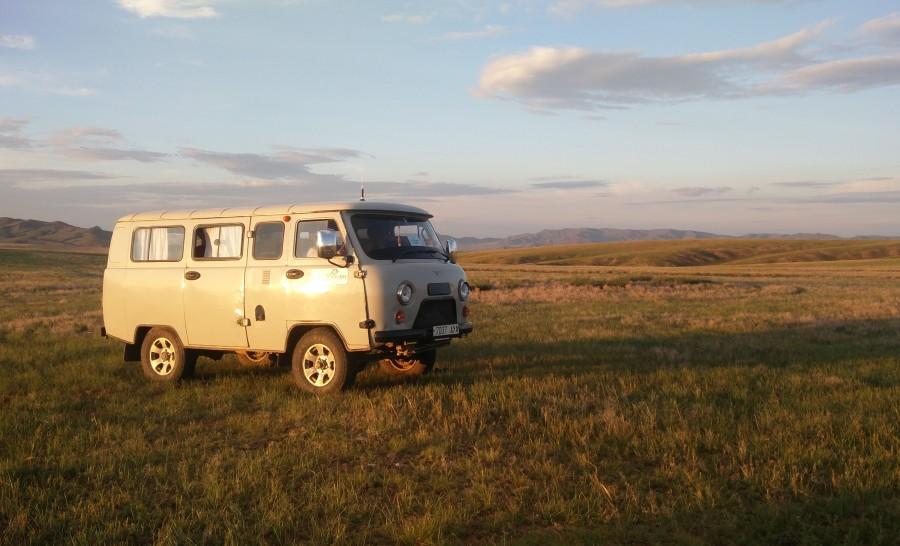 הוואן שלנו במרכז מונגוליה