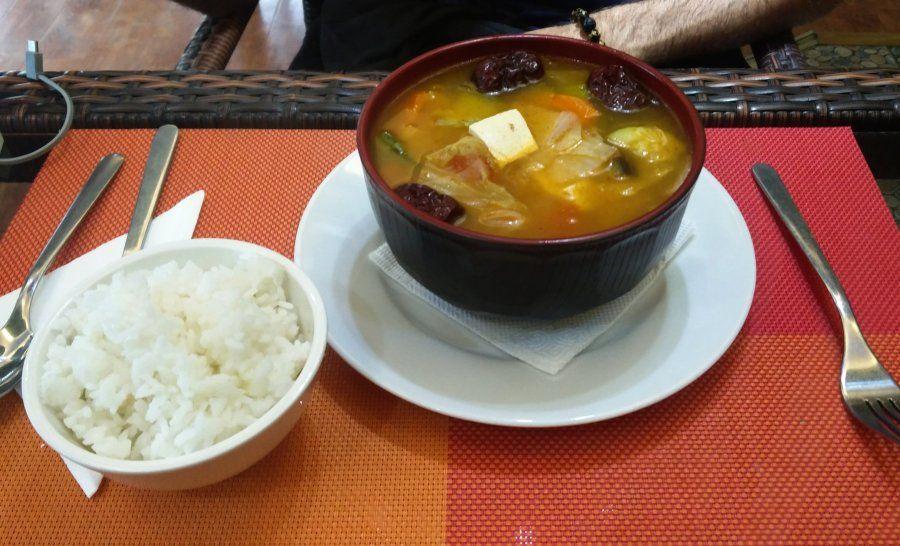 מרק טבעוני במונגוליה