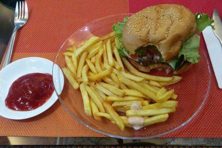 המבורגר טבעוני במונגוליה