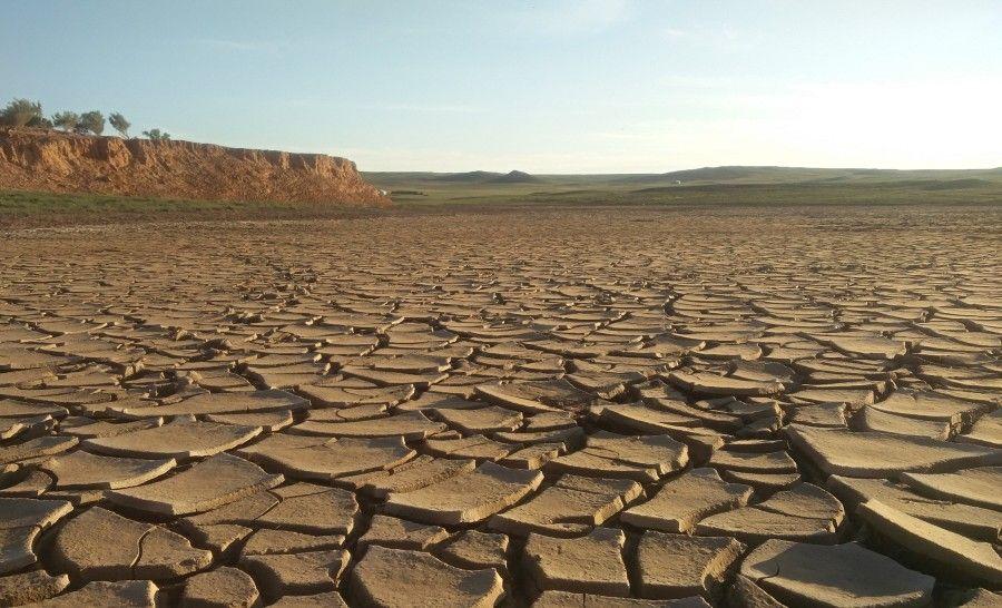אדמה מתפרקת במדבר גובי