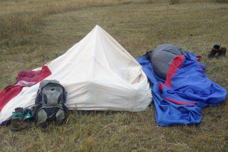 האוהל שלא שרד את מונגוליה