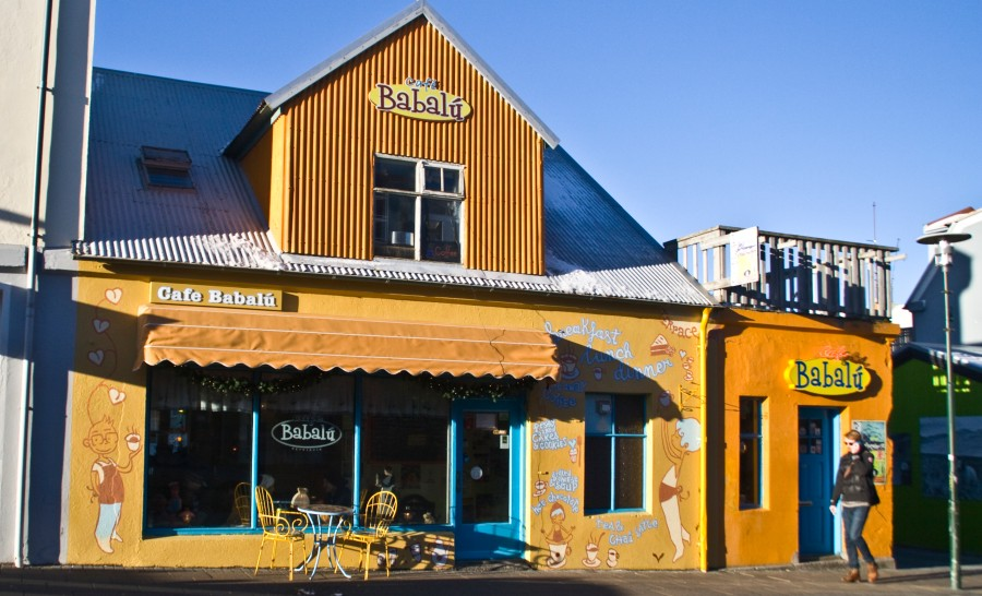בית קפה באיסלנד