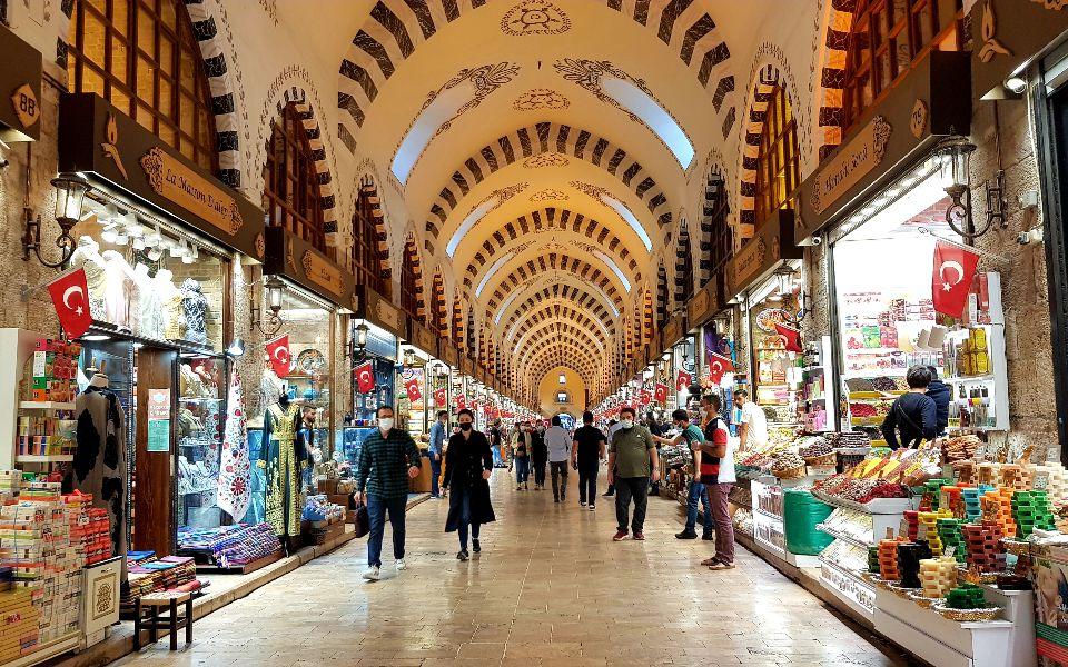 שוק התבלינים המצרי באיסטנבול