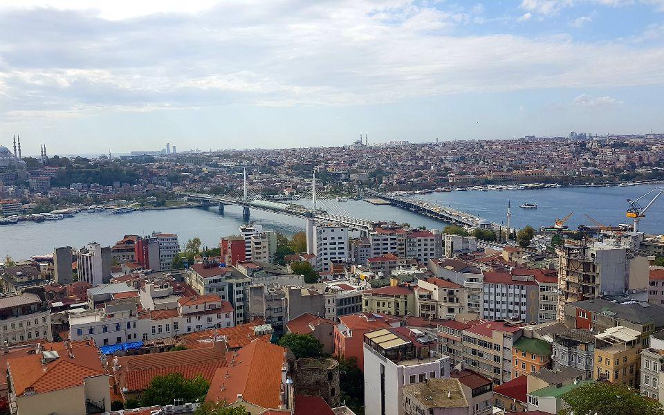 תצפית על העיר איסטנבול