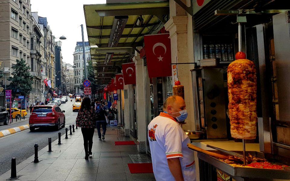 דונר קבב באיסטנבול